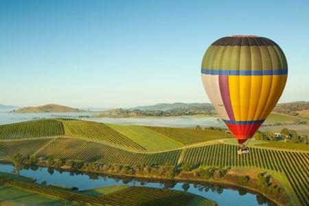 Ballooning yarra valley