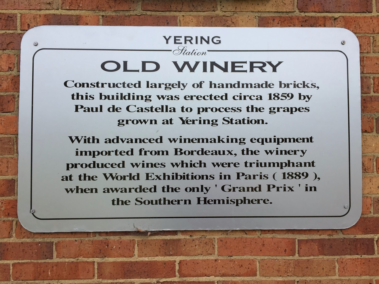 wine history More than 160 years of success and challenge have shaped this premier wine region.