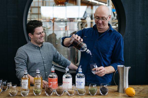 Online Gin Tasting Four Pillars